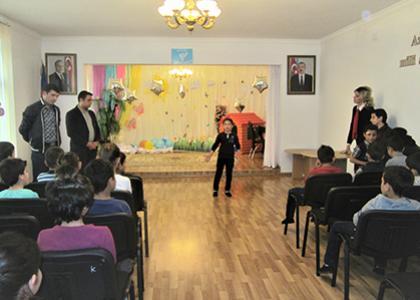 """""""Şəmkir Aqropark"""" MMC xeyriyyə tədbiri təşkil edib"""