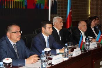 """""""Şəmkir Aqropark""""ın əməkdaşları II Milli Sənaye Mühəndisliyi Forumunda"""
